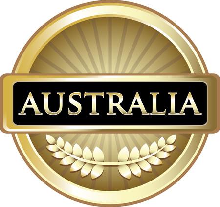 Australia Gold Label Icon