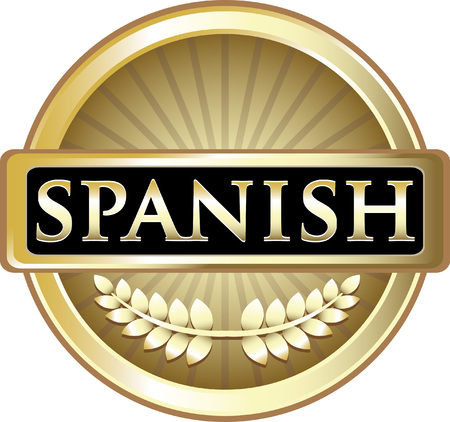 Spanish Gold Label Icon