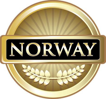 Norway Gold Label Icon