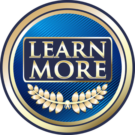 Lear More Blue Icon