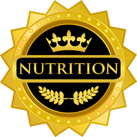 Nutrition Gold Label Icon