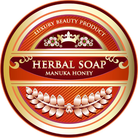 Manuka Honey Herbal Soap Product Label