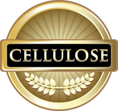 Cellulose Gold Label Icon