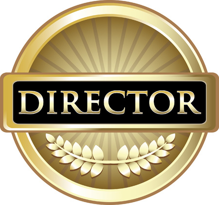 Director Gold Label Icon