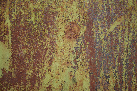 Texture of old rusty painted wall