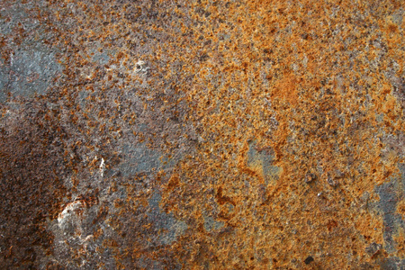 Texture of old colorful rusty surface