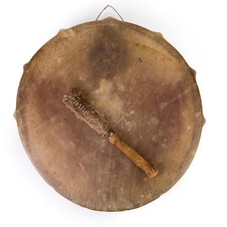 고대 인도의 탬버린 드럼 드럼 스틱 복제본
