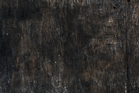 Aged dark rough empty poster board wooden surface texture background