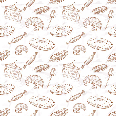 raisin: Sweet food set. Hand drawn elements  Illustration