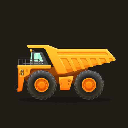 Mining truck vector Stok Fotoğraf - 81436862