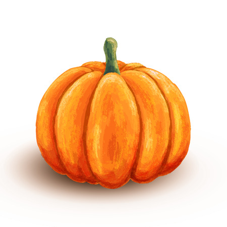 Hand drawn pumpkin