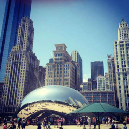 The famous Bean of Chicago