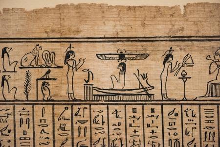 Egyptian hieroglyph letters