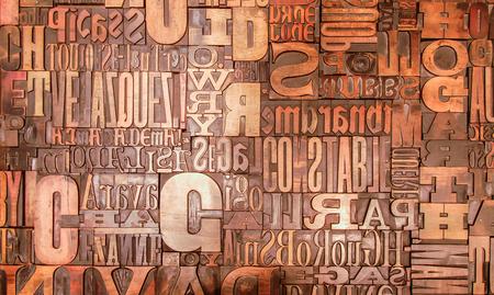 Alfabet letters tekens gespiegeld