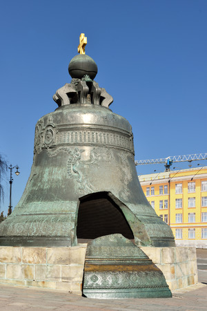 tsar: Tsar Bell is largest in world, Moscow Kremlin, Russia