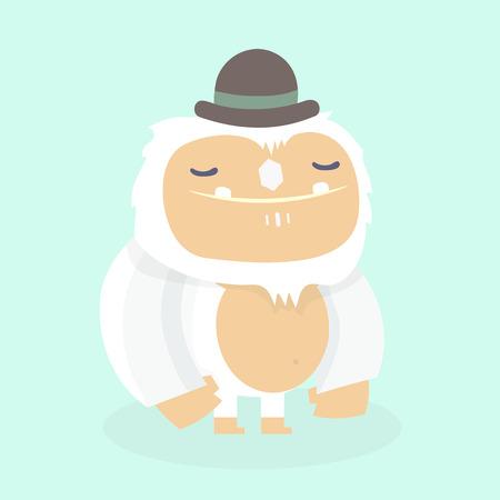 Cute yeti.