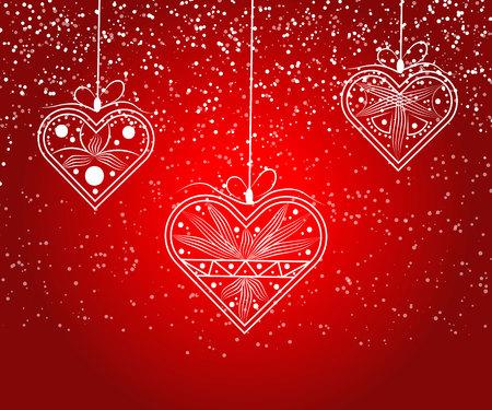 Heart love vector. Valentine card love hearts vector. Sketch designed loves heart.