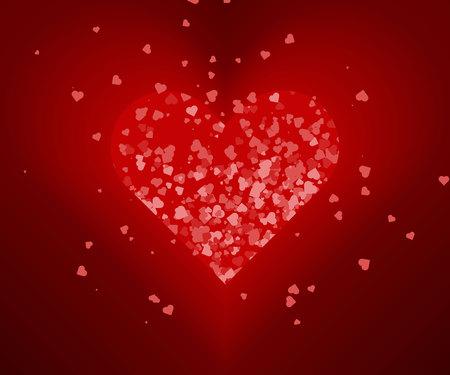 Heart love vector, Valentine card love hearts vector. Sketch designed loves heart. Graphic red hearts love vector. Hand drawn loves hearts grunge hearts love vector. Illustration