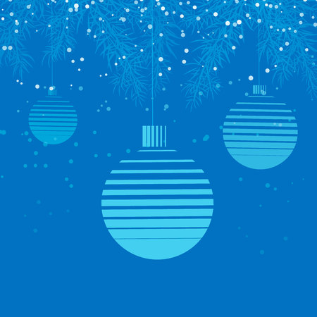 template christmas card, for wallpaper, banner, new year ball 10 eps