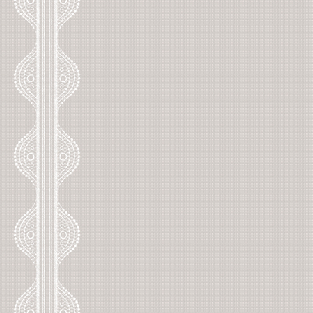 Textile print. Canvas with lacy. Seamless abstract lace pattern. Vintage fashion textile. 10 eps