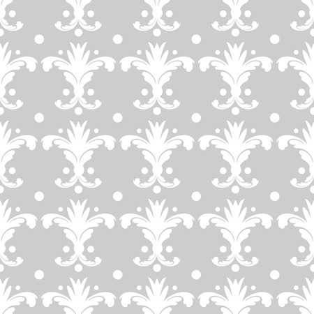 Wallpaper in the style of Baroque. A seamless vector background. Graphic vector pattern 10 eps