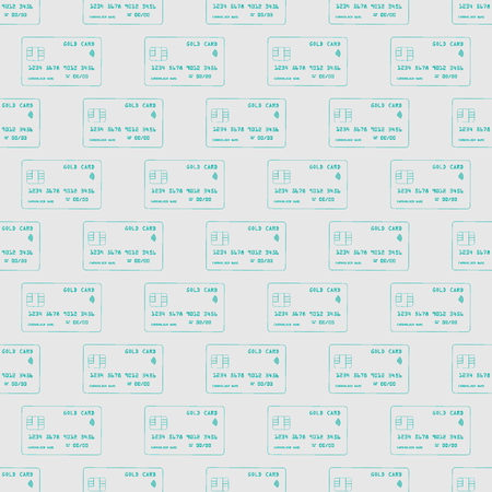 Credit card seamless pattern.Online shopping concept. illustration of credit card vector pattern 10 eps