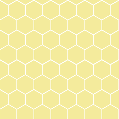Vector illustration of seamless geometric pattern with honeycombs 10 eps Illustration