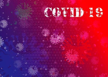 Novel Coronavirus 2019-nCoV . Virus Covid 19-NCP Background