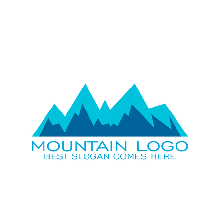 Mountain logo design.