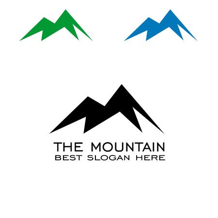 Mountain logo design.