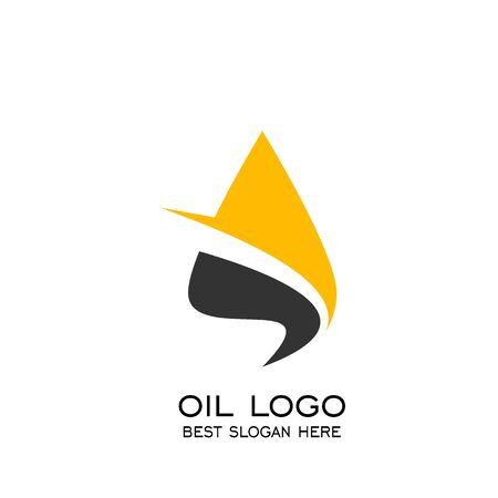 Oil drop logo. oil vector graphic design, vector icons.