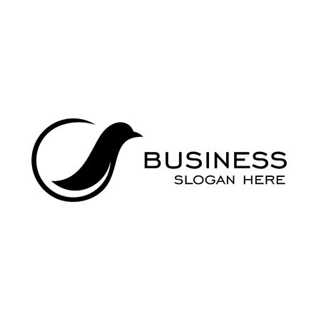 Ekster logo, vogel logo vector silhouet grafisch ontwerp.