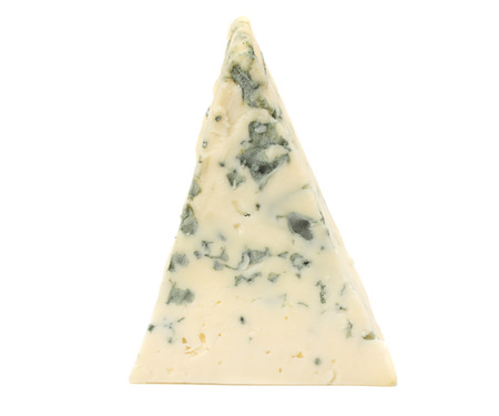 blue cheese isolated on white background Stock Photo