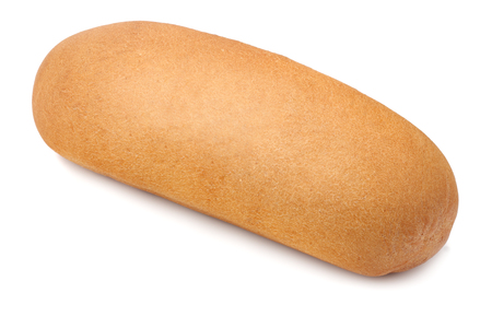 hot dog bun isolated on white background