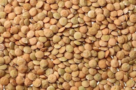 Pile lentils background. Pile lentils texture. Top view. Stok Fotoğraf