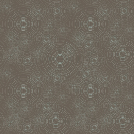 vector seamless baskground, stylized circles on the water Stock Vector - 14717080