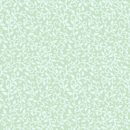 vector seamless pattern  foliage  Vector