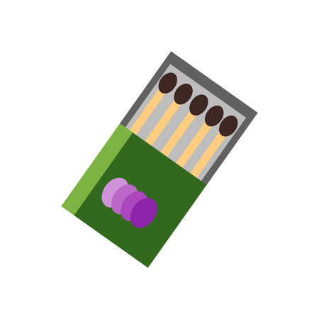 Matches icon vector isolated on white background for your web and mobile app design, Matches logo concept Logo