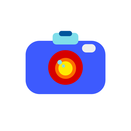 Camera icon vector isolated on white background for your web and mobile app design, Camera logo concept