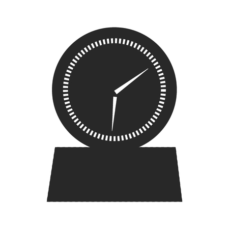 Timer icon vector isolated on white background for your web and mobile app design, Timer logo concept Illustration