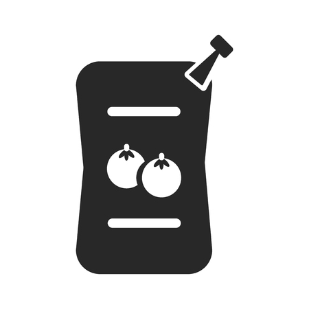 Sauces icon vector isolated on white background for your web and mobile app design, Sauces logo concept  イラスト・ベクター素材