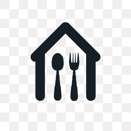 Eatery vector icon isolated on transparent background, Eatery logo concept Logo