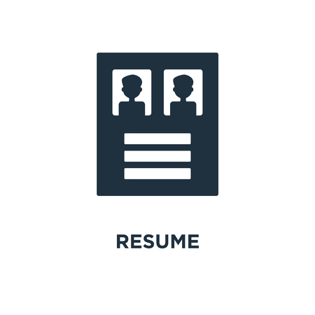 9 565 Resume Icons Stock Illustrations Cliparts And Royalty Free