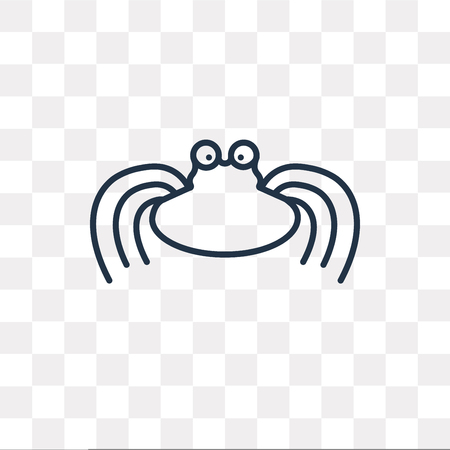 Pastafarianism vector outline icon isolated on transparent background, high quality linear Pastafarianism transparency concept can be used web and mobile Illustration