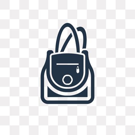 Eimer-Beutel-Vektorsymbol isoliert auf transparentem Hintergrund, Eimer-Beutel-Transparenzkonzept kann im Web und mobil verwendet werden