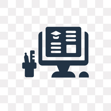 Workspace vector icon isolated on transparent background, Workspace transparency concept can be used web and mobile