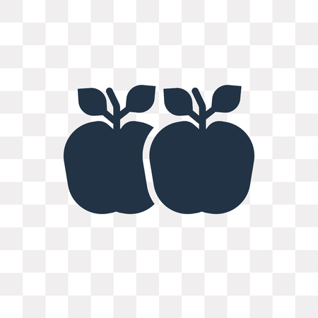Apple vector icon isolated on transparent background, Apple transparency concept can be used web and mobile Banque d'images - 112930691