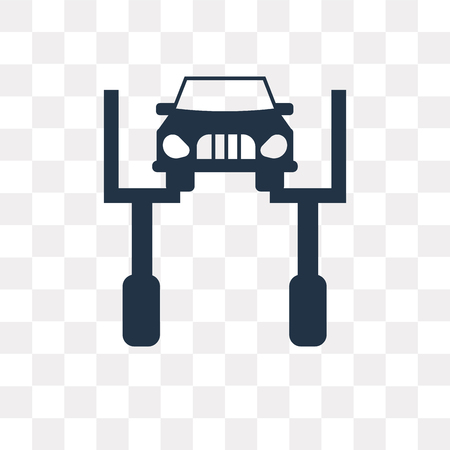 Repairing Car vector icon isolated on transparent background, Repairing Car transparency concept can be used web and mobile