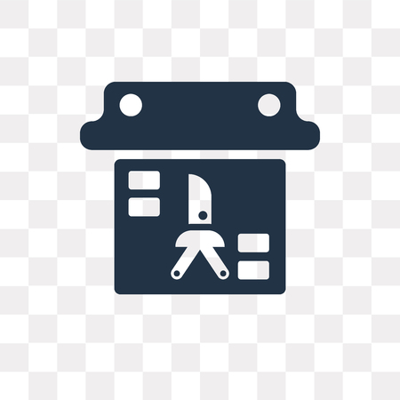 Evidence vector icon isolated on transparent background, Evidence transparency concept can be used web and mobile