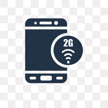 2g vector icon isolated on transparent background, 2g transparency concept can be used web and mobile